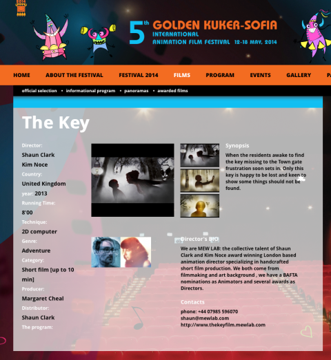 Golden Kuker sofia mewlab the key